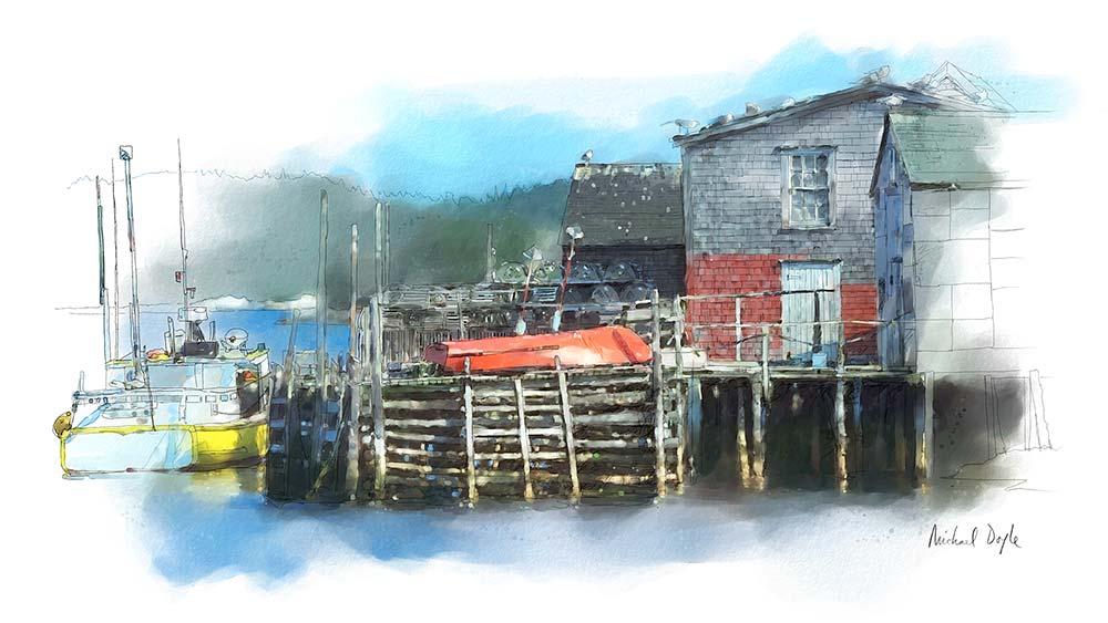 Nova Scotia Dock