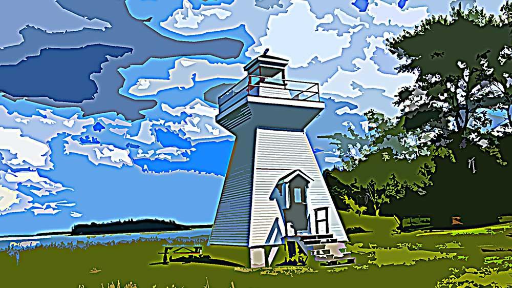 Grandique Point Lighthouse