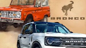 Ford Bronco New & Old